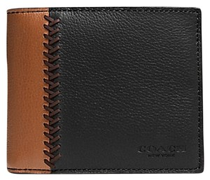 Coach Coach men's COMPACT Leather ID WALLET