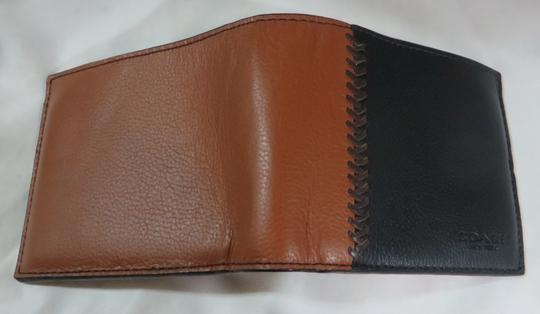 Coach Coach men's COMPACT Leather ID WALLET Image 4