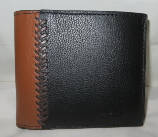 Coach Coach men's COMPACT Leather ID WALLET Image 6