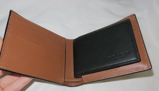 Coach Coach men's COMPACT Leather ID WALLET Image 7