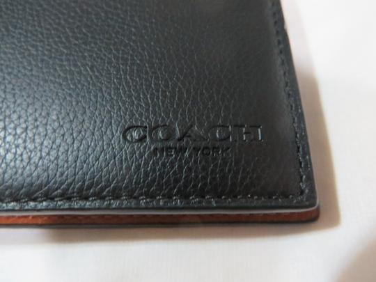 Coach Coach men's COMPACT Leather ID WALLET Image 8