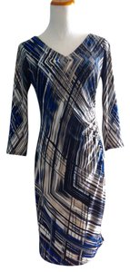 Anne Klein short dress Ultraviolet multi Long Sleeve Color New on Tradesy
