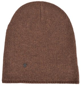 Gucci New Gucci 352350 Men's Brown Beige Wool Cashmere Beanie Ski Winter Hat XL