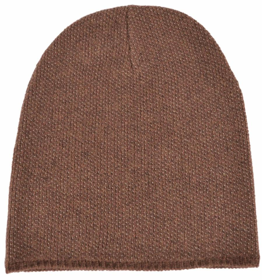 Gucci Brown New 352350 Men s Wool Cashmere Beanie Ski Winter Xl Hat -  Tradesy e43f7e3d2726