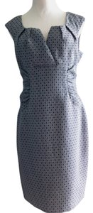 Evan Picone short dress Gray/black Polka Dot Gray Black on Tradesy