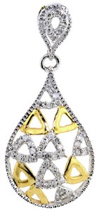 ABC Jewelry Italian Diamond Fashion Pendant