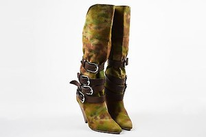 Isabel Marant Brown Green Boots
