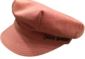 Juicy Couture Juicy Couture Pink Newsboy Cap