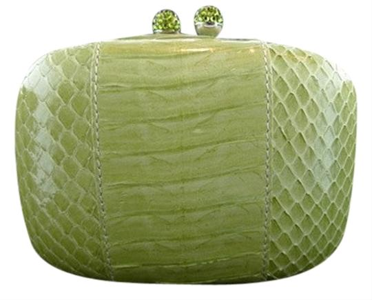 Kotur Mini Shoulderbag Python Color Lime Green Clutch
