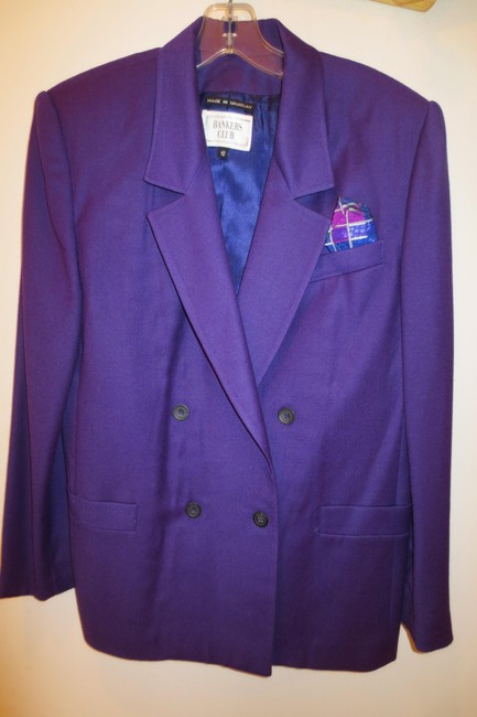 Bankers Club fully lined pure wool suit