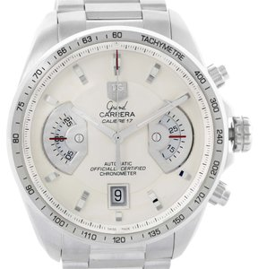 TAG Heuer Tag Heuer Grand Carrera White Dial Automatic Mens Watch CAV511B
