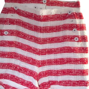 Dolce&Gabbana Dress Shorts Red and white