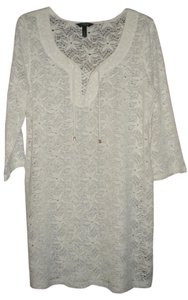 Soma Intimates Lace Swim Cover Up/Tunic