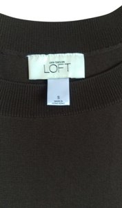 Ann Taylor LOFT Top Green Brown