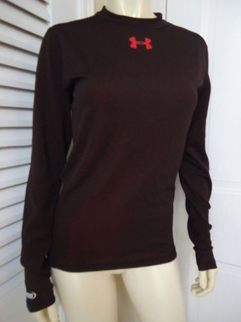 Item - Knit Top Dark Brown All Season Gear Stay Cool Pullover Sporty