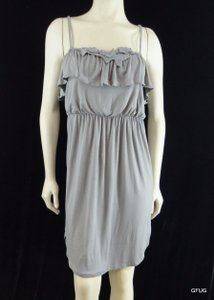 Ella Moss short dress Gray Jersey Knit on Tradesy