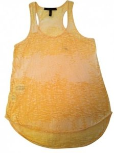BCBG Max Azria Top Yellow
