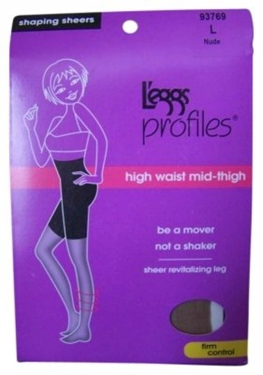 L'eggs 4 pairs of L`eggs profiles benefits #93769 L Nude