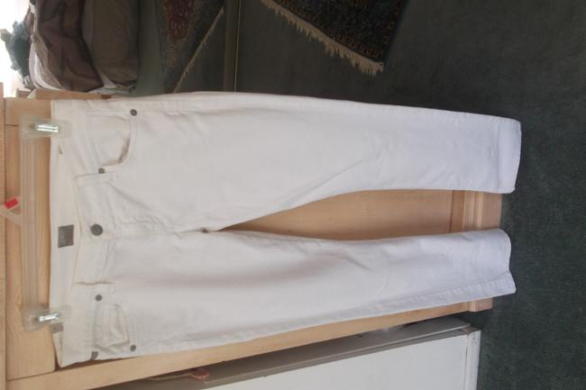 """7 For All Mankind White Coated Style #u1301060-106u #700309 """"A""""Pocket Inseam 29""""1/2"""" Boot Cut Jeans Size 28 (4, S) 7 For All Mankind White Coated Style #u1301060-106u #700309 """"A""""Pocket Inseam 29""""1/2"""" Boot Cut Jeans Size 28 (4, S) Image 7"""