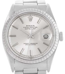 Rolex Rolex Datejust Vintage Mens Stainless Steel Watch 1603 Box Papers