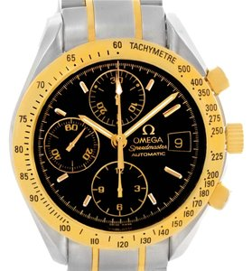 Omega Omega Speedmaster Steel Yellow Gold Automatic Watch 3313.50.00