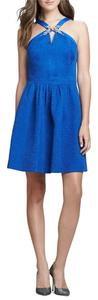 Rebecca Taylor short dress Cobal Blue on Tradesy