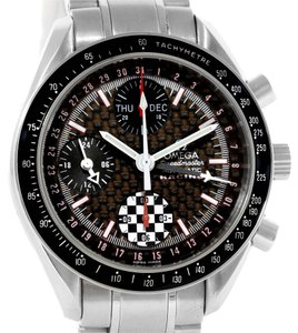 Omega Omega Speedmaster Schumacher Day Date Watch 3529.50.00 Box Papers