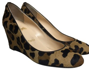 Christian Louboutin Leopard Wedges
