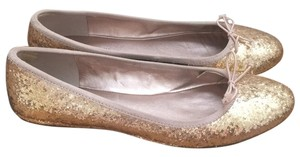 Sole Society Gold Flats