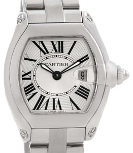 Cartier Cartier Roadster Small Silver Dial Ladies Steel Watch W62016V3