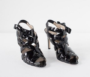 Valentino Strappy Black Pumps