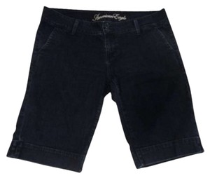 American Eagle Outfitters Bermuda Shorts Black