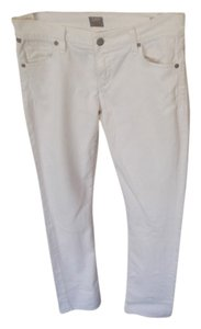 Citizens of Humanity Straight Leg Jeans-Coated