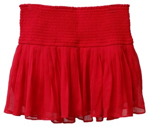 Hollister Mini Skirt Red