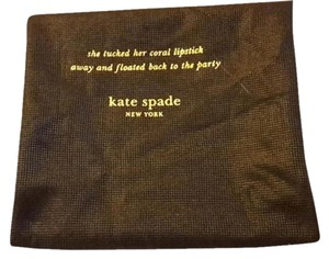 Kate Spade Brown Dust bag Sleeper for Handbag Purse
