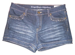 Buffalo David Bitton Stretch Denim Mini/Short Shorts blue