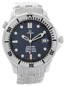 Omega Omega Seamaster Blue Wave Decor Dial Steel 300m Watch 2532.80.00