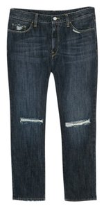 Mango Boyfriend Cut Jeans-Distressed