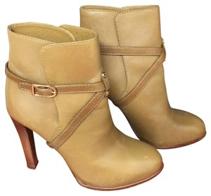 Tory Burch Tan, camel, gold Boots