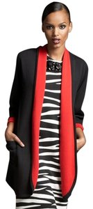 Adrienne Vittadini Black/Red Jacket
