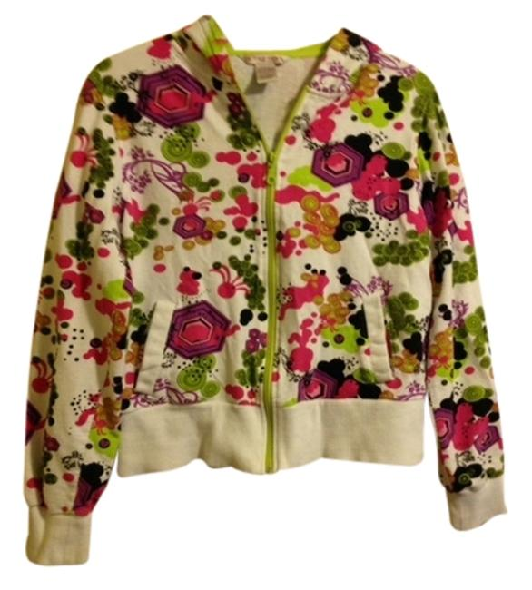 In The Pink lime green, pink and black Jacket
