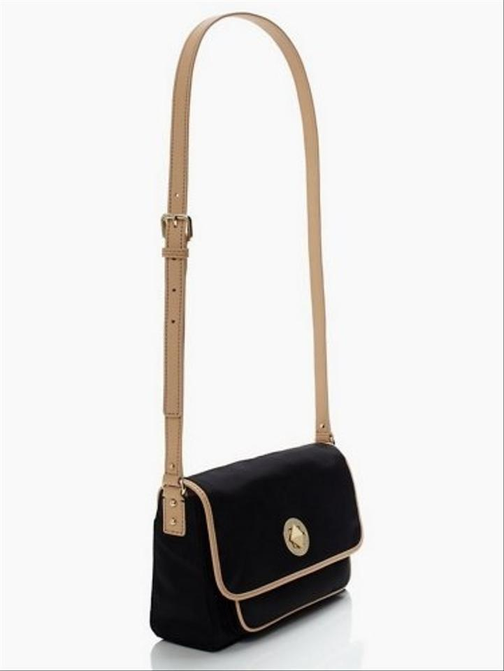 Kate Spade Black Nylon & Leather New York Sporty Gracie ...