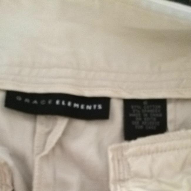 Grace Elements Capris Khaki