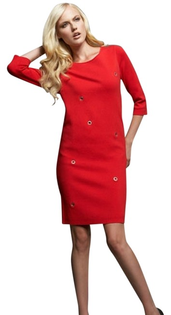 Preload https://item5.tradesy.com/images/adrienne-vittadini-red-new-knit-bateau-neckline-above-knee-short-casual-dress-size-4-s-1438774-0-0.jpg?width=400&height=650