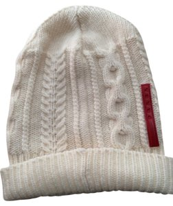 Prada Cream Color Knit Hat