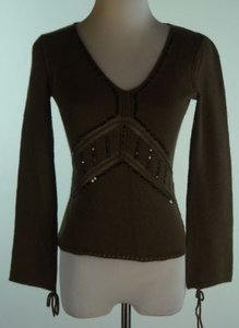 DKNY City Petite Sequined Fitted Sweater