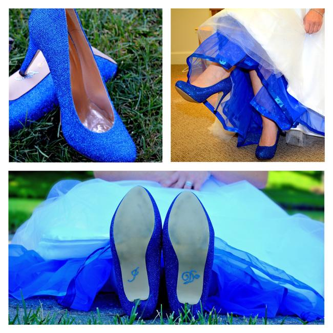 Item - Royal/Cobalt Blue Pumps Size US 8.5 Regular (M, B)