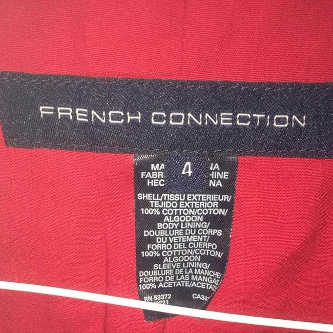 French Connection Red Jacket