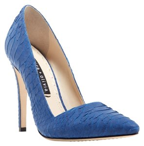 Alice + Olivia Dina Umbrella Blue Pumps