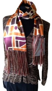 Juliana Collezione BNWT 100% Silk Juliana Collezione scarf/head scarf/belt/purse decor Retail $150
